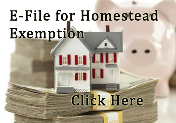 e-file for homestead exemption