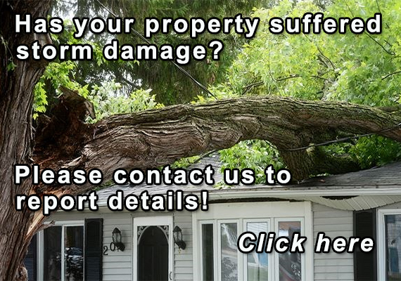 Report storm damage to property