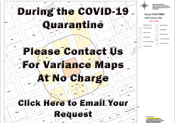 Free Variance Maps during COVID19