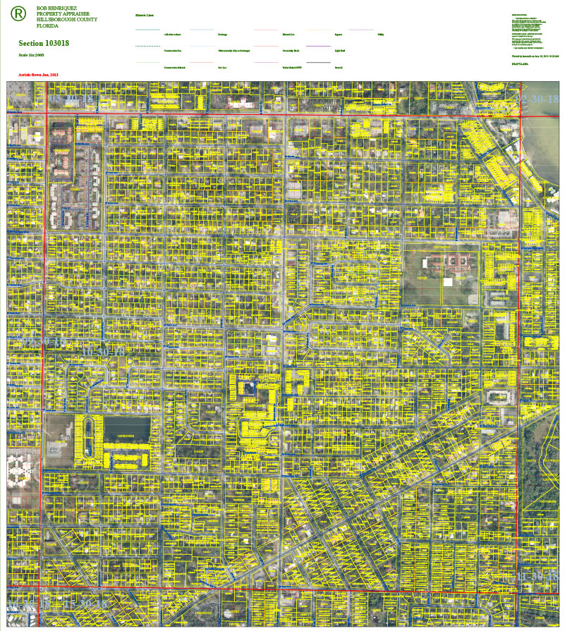Hillsborough County Property Appraiser Downloads Maps Data
